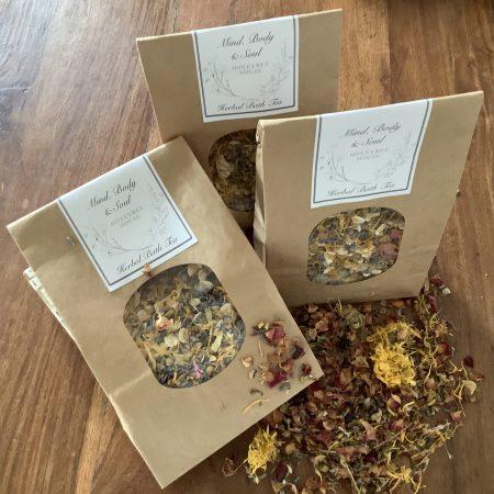 Mind, Body & Soul Herbal Bath Tea.