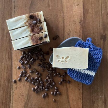 Creamy cappuccino coffee bar