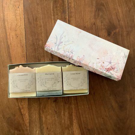 Three bar Body Bar Gift Pack