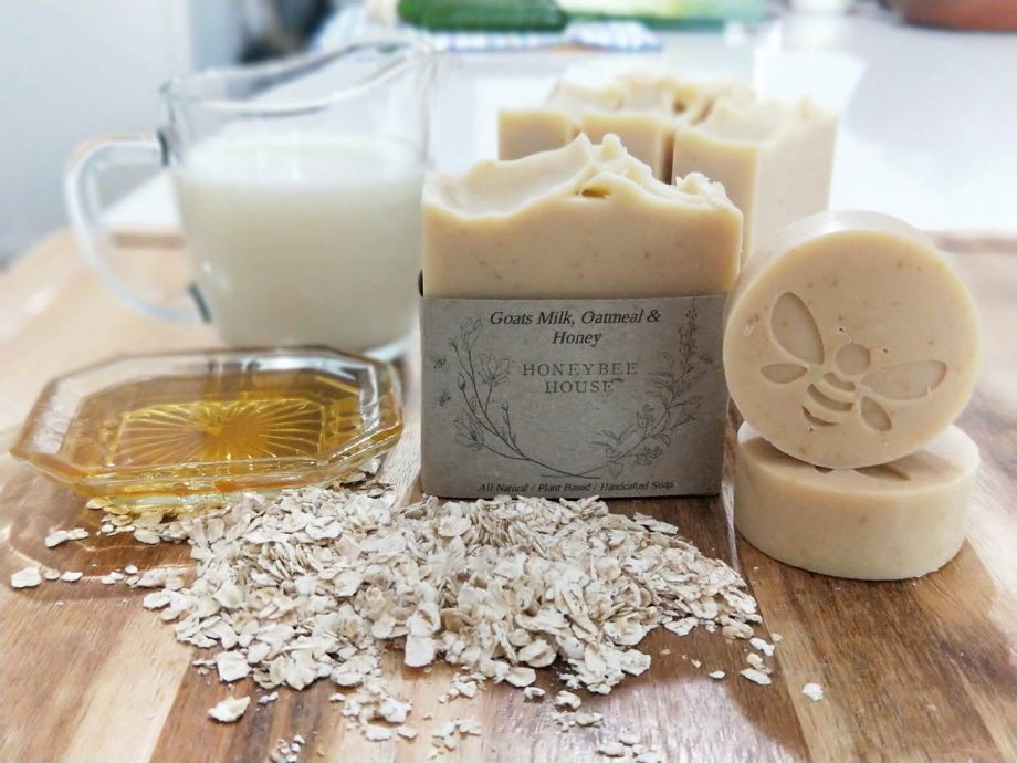 sustainable skincare - all natural body soap bars with zero waste packaging