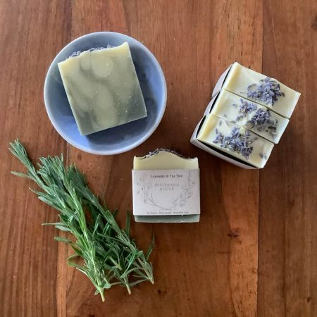 lavender and tea tree body bar soap