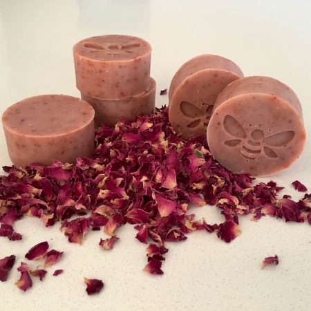 all natural waste free skin care with our misty mauve facial bar cleanser
